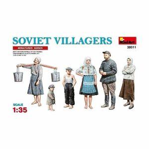 MiniArt Mini38011 Villageois Soviétiques 1/35