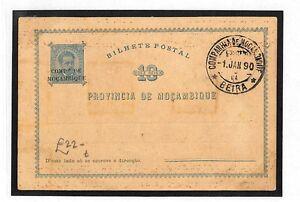 AK24 1890 Mozambique Africa Postcard