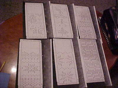 Punchcard Patterns for 12 Stitch Machines Deer Plus Mor 13