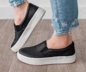 Soda Flat Women Shoes Slip On Loafers