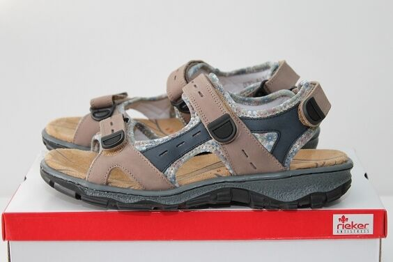 Rieker Rieker Rieker Clara 68872-25 Sandale Leder Sneaker mehrfarbig Trekking Gr. 37 - 42 NEU 6bf7df