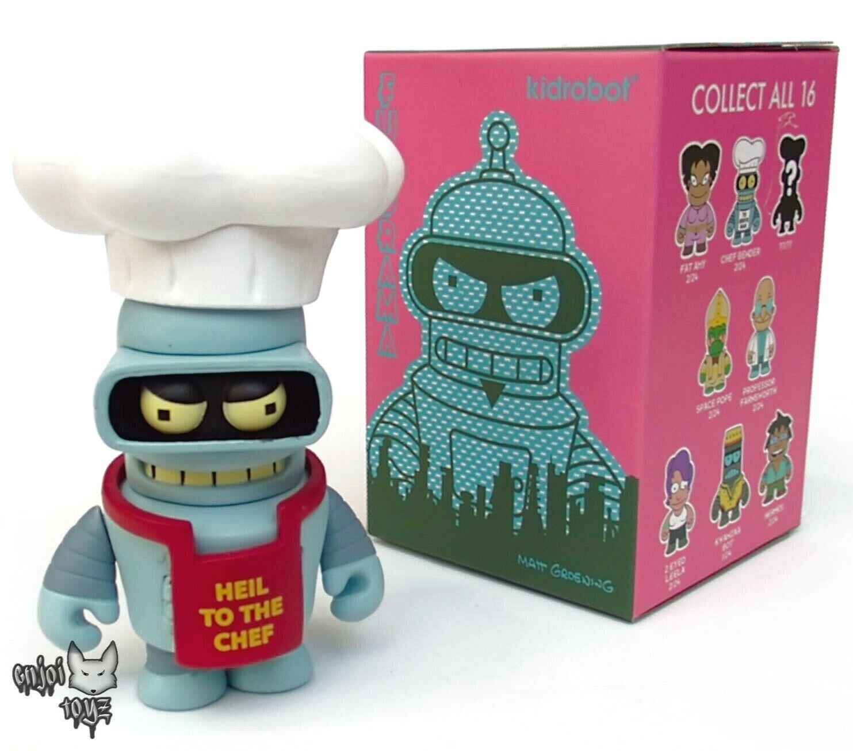 Bender Variant - Futurama x Kidrobot Good News Everyone Series - 3  Vinyl Figure