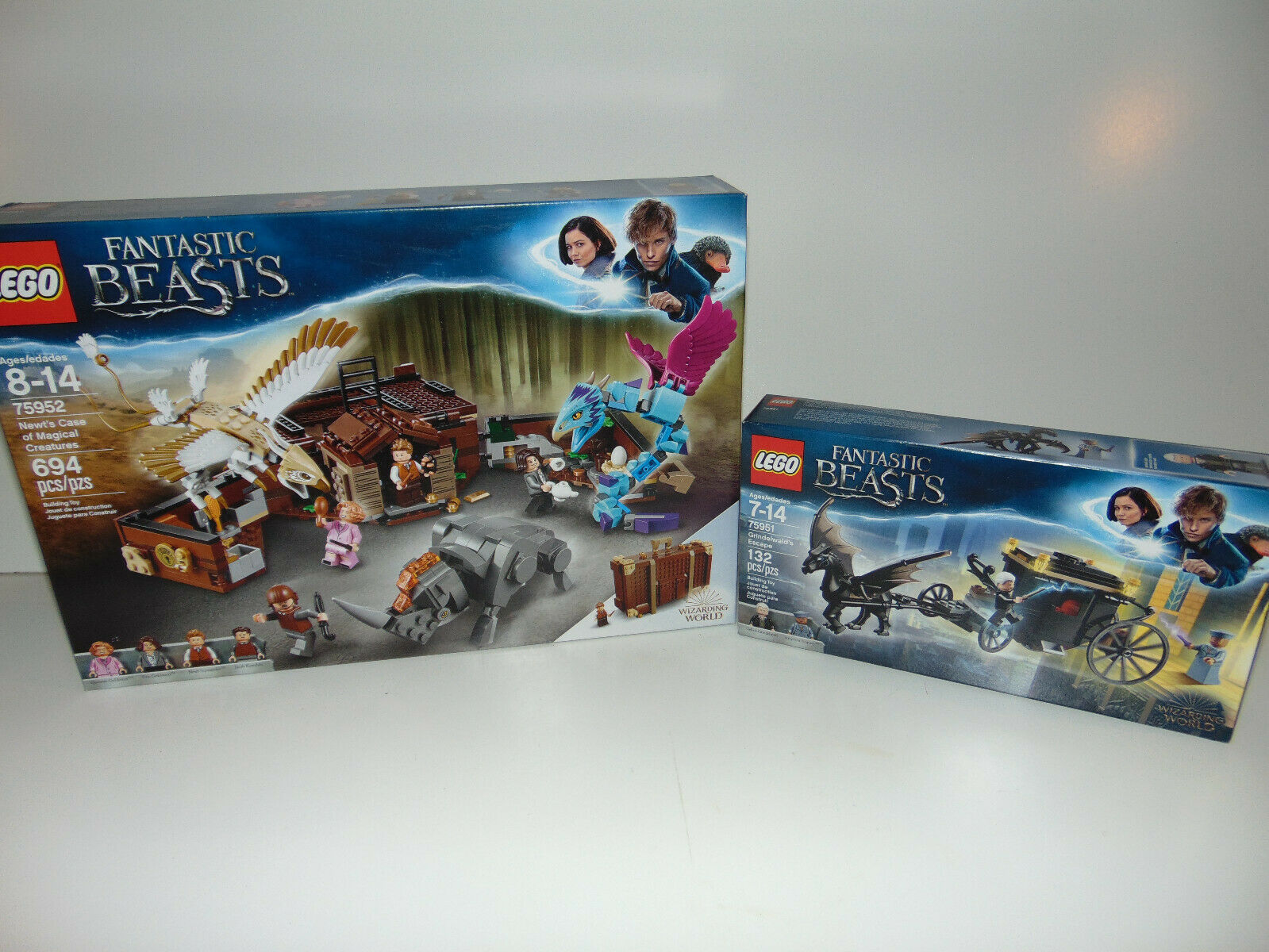 2) 2) 2) LEGO Fantastic Beasts Newt's Case Creatures Set Grindelwald's 75952 75951 NEW a89e1f