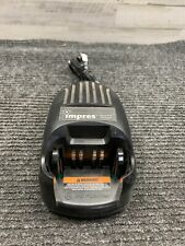 Used Motorola Wpln4114ar Impres Radio Battery Charger With Power Supply Cable