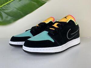 Nike Air Jordan 1 Low SE Biohack Size 7Y (Women's 8.5) Black ...