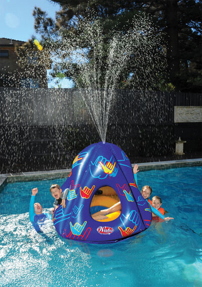NEW Wahu BMA653 Pool Party Fun Inflatable Water Eruptor - cubby