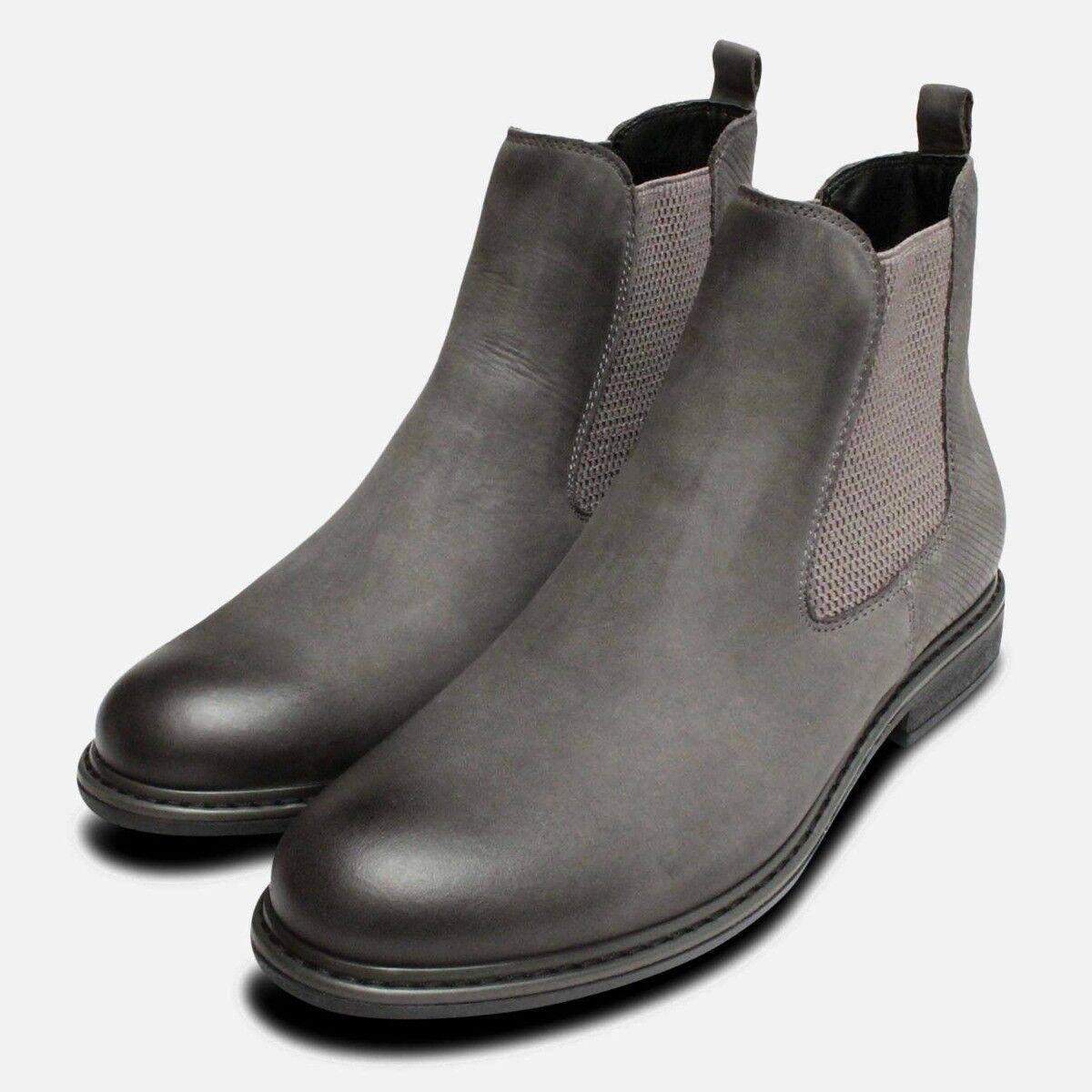 gris oscuro Damas Slip on Chelsea botas por Tamaris