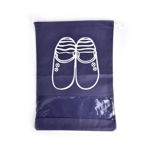 Waterproof Portable Shoes Clothes Travel Storage Pouch Drawstring Dust  Io