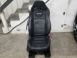 2015 2019 Ford Mustang Gt Black Leather Rh Passenger Recaro Seat Ebay