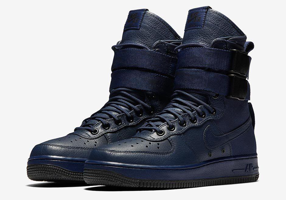Nike Women's Air Force 1 Special Field SF Binary Blue 857872 400 Size 5.5