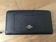 best authentic e09da e1e8f Coach Gathered Twist Leather Accordion Zip Wallet F54003 ...