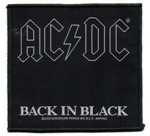 ACDC-Back-in-Black-Patch