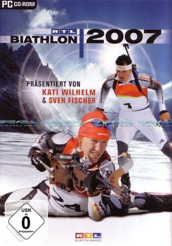 1 von 1 - RTL Biathlon 2007 Wintersport Simulation für Pc Neu/Ovp