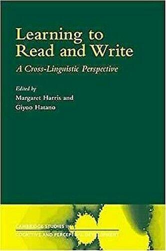 Lern Lesen und Write: A Cross-Linguistic Perspective von Harris,