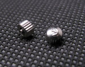 New-RADO-Distar-Automatic-Waterproof-Crown-Tap-0-9mm-Nickle-Plated-Watch-parts