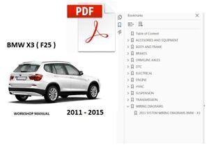 2012 bmw x3 suv owners manual books nav guide all models | ebay.