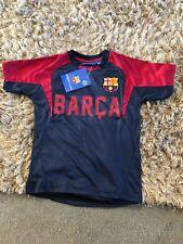 FC Barcelona Official Football Gift Boys Poly Training Kit T-shirt ... 8cc8914fe
