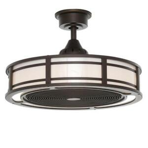Brette indooroutdoor ceiling fan with two 23w led light strips 23 brette indooroutdoor ceiling fan with two 23w led light strips 23 inch bronze aloadofball Choice Image