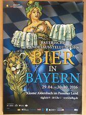 BIER IN BAYERN  2016   -- orig. Poster - Plakat A1 xx