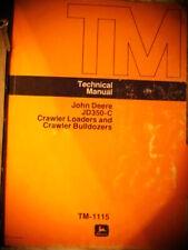 1985 John Deere 350 C Crawler Loaders Amp Bulldozers Technical Manual Diagrams