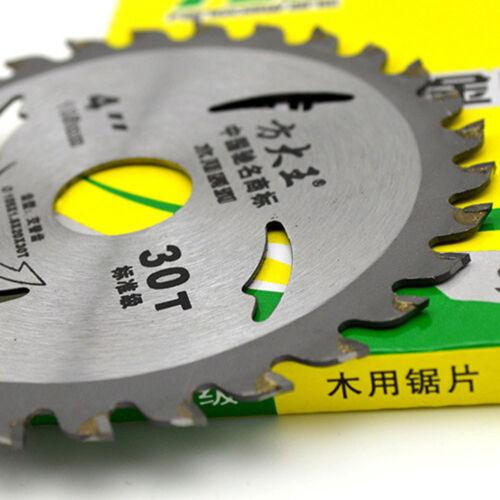 4Inch 30T Carbide Circular Saw Blade for Wood Acrylic Metal Cutting Cutter Tool