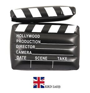 Large Gonflable Claquette sauter Film Fancy Dress Party Prop Hollywood UK 							 							</span>