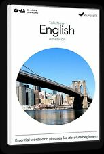 Eurotalk Talk Now English (American) for Beginners - Download option and CD ROM