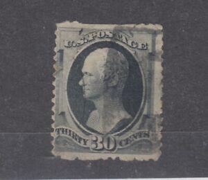 USA-1870-30c-Hamilton-Sc-154-SG167-Fine-Used-JK1011