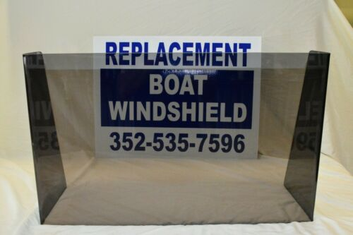 "center console 1//4/"" premium plexiglass Universal boat windshield 26/"""
