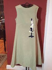 Chocolate Soup Boutique Girls Sz. 5-6 Manequin Applique Jumper Dress