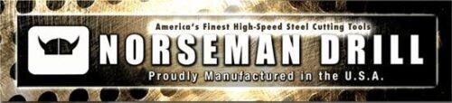 3 PACK 5//16 LEFT Hand Super Premium High Speed Drill Bit Norseman USA Made