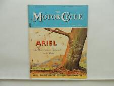 October 1949 THE MOTORCYCLE Magazine Ariel Singles Twins Fours L8618