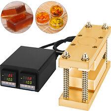 3x5 Rosin Press Caged Plate Kit Pairs 10 12 Ton Hydraulic Rosin Heat Press