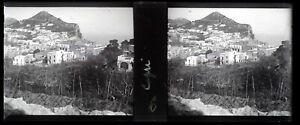 Italia-Capri-Foto-Stereo-Placca-Da-Lente-VR12h
