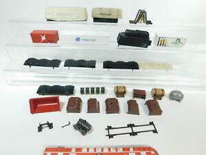 AW489-0-5-Konvolut-Maerklin-H0-Ladegut-Container-Kohleneinlagen-Glocke-etc