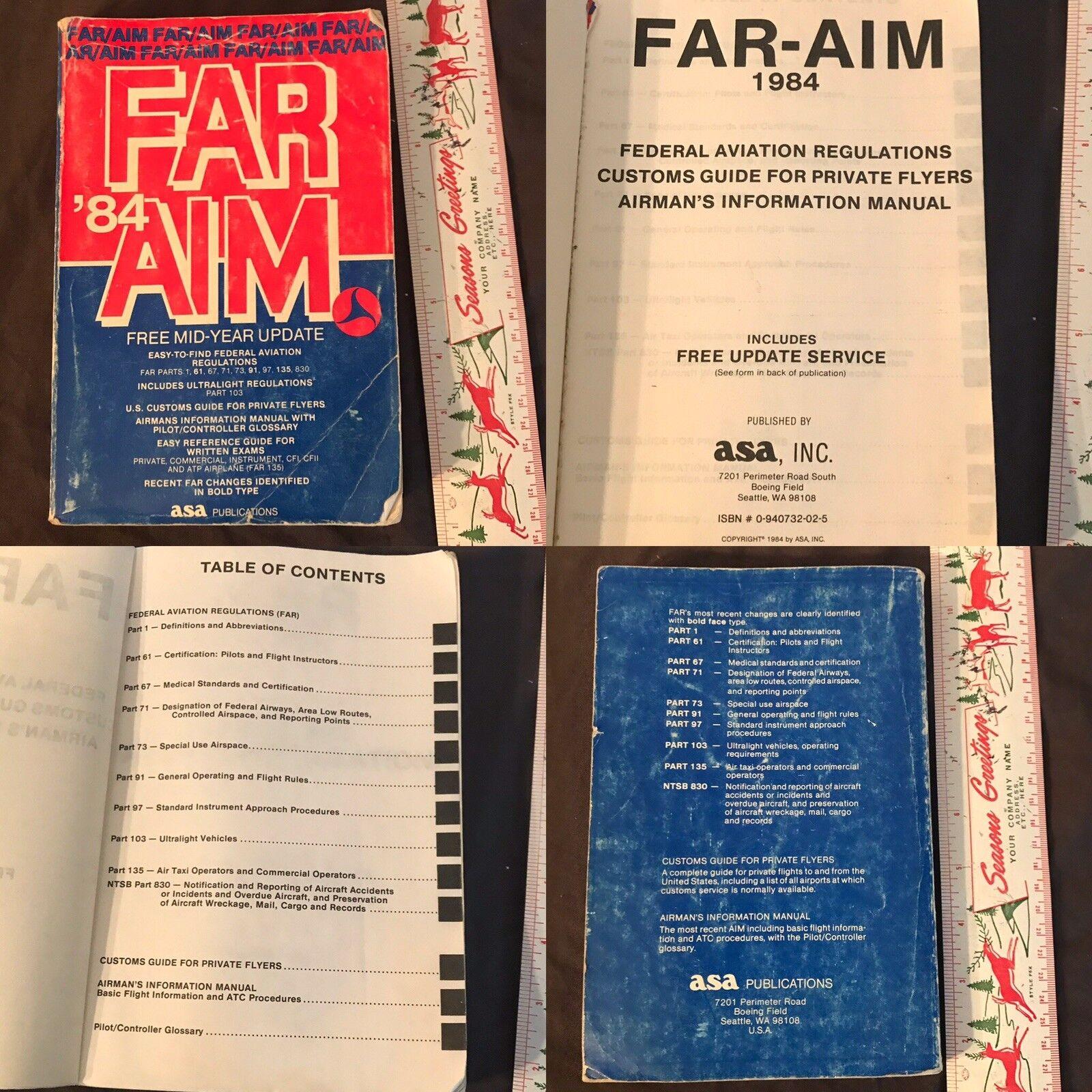 ASA 2019 FAR//AIM ASA-19-FR-AM-BK FAA Regulations
