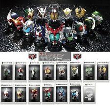 Bandai Kamen Rider Masked Mask Head Mascolle Collection Part 3 Full Set of 15