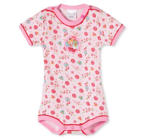 Schiesser Baby Body Babybody halbarm 1//2 Arm Lillifee Baumwolle Mädchen NEU