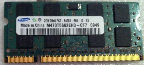 ASUS X70S NOTEBOOK PC ddr2 pc2 2gb 2Rx16 di memoria RAM ORIGINALE