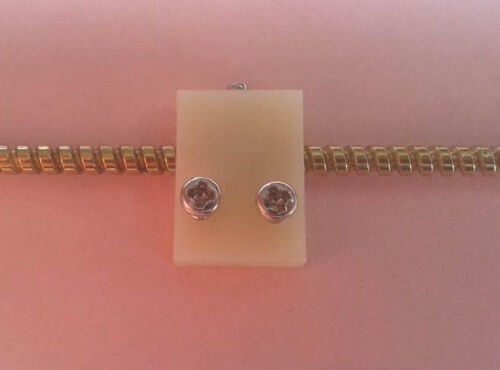 3mm Diameter Mini Screw Rod with Nut Slider Moving Block 120mm Length Thread 2mm