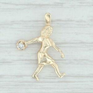Diamant-Buchse-Melone-Anhaenger-14k-Gelbgold-Figural