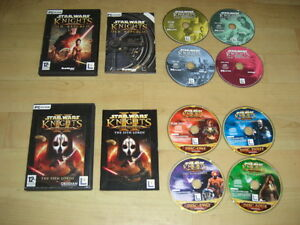 STAR-WARS-KNIGHTS-OF-THE-OLD-REPUBLIC-1-amp-2-Pc-Cd-Rom-KOTOR-1-amp-2-Sith-FAST-POST