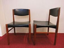 2x Teak Stuhl dining chair danish design 60s 70s 60er 70er vintage