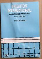 BRIGHTON INTERNATIONAL CHAMPIONSHIPS 1994 Tennis Tournament Programme / Graf