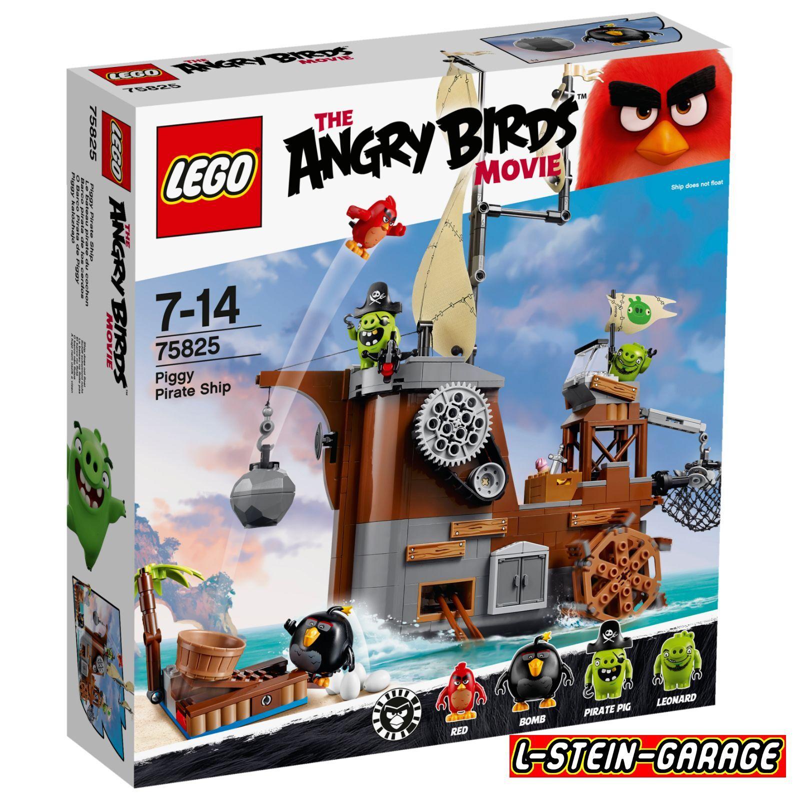 LEGO® Angry Birds™ 75825 Piggy Pirate Ship Neu & OVP