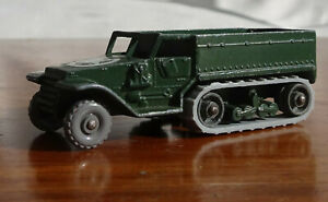 Matchbox-Lesney-49a-M3-Half-Track-personnel-carrier-with-Repro-Tracks-MB047