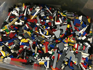 Lego-by-the-Pound-Random-Clean-Pieces-1-99-Lbs-Bulk-Brick-Used-Lot-Authentic
