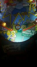 Simpsons, WWF Royal Rumble, Who Dunnit Pinball Machine trough light Mod