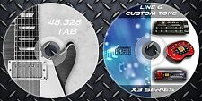 64.739 Patches Line6 POD x3-x3 Live-x3 Pro & 48.328 Guitar Tab Sheet Music Book