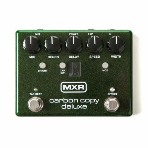 MXR M292 Carbon Copy Deluxe Analog Delay Guitar Pedal w//Tap Tempo  New!